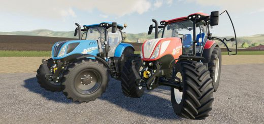 NEW HOLLAND T7S SERIES V1.0