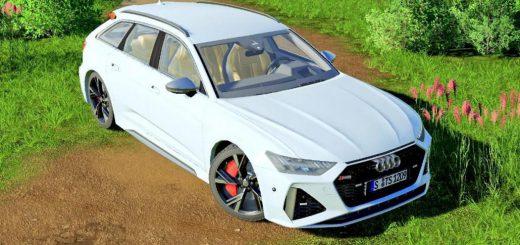 AUDI RS6 AVANT 2020 V1.0