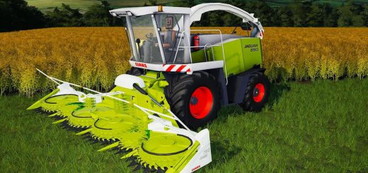 CLAAS JAGUAR 890 CONVERTED V1.0