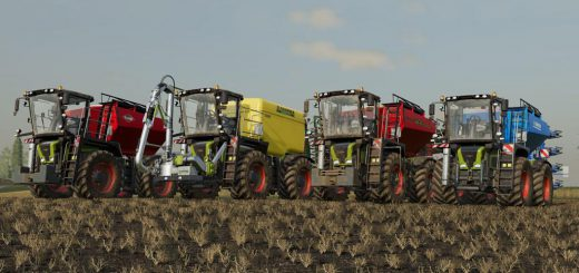 CLAAS XERION 3000 SADDLE TRAC V1.0