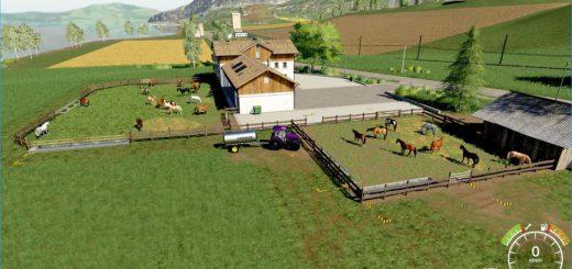 HORSE PLACES FOR THE HORSERANCH IN FELSBRUNN V1.0