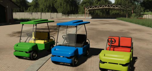 LIZARD GOLF CART V1.0