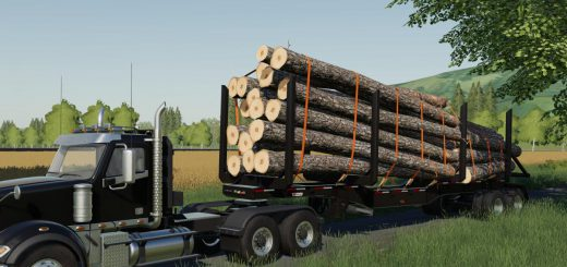 MANAC 45FT LOG TRAILER V1.0