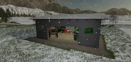 MEDIUM CONCRETE SHED V1.0