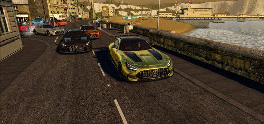 MERCEDES AMG GT BLACK SERIES 2021 V1.0