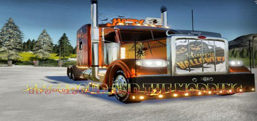 PETERBILT HAPPY HALLOWEEN V2.0
