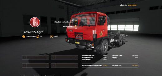 TATRA 815 AGRO OFICIALNI JZD STRAZNICE V1.0