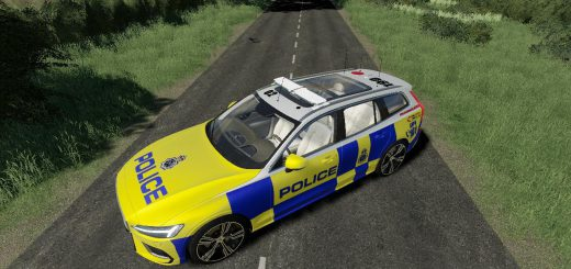 VOLVO V60 UK POLICE EDIT V1.0