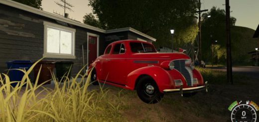 1939 CHEVY COUPE V1.0