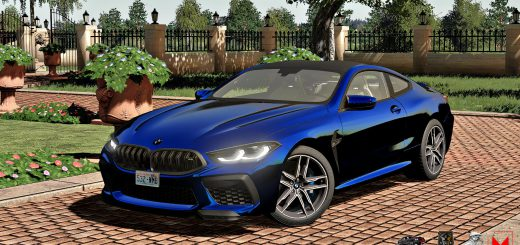 BMW M8 COUPE 2020 V1.0