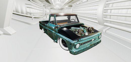 CHEVROLET C10 1966 TWIN TURBO V1.0