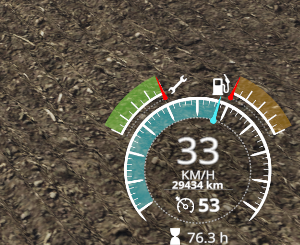 Drive Distance Display