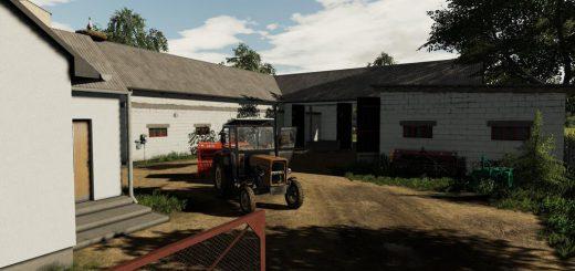 FARM BUILDING WITH COWS V1.0