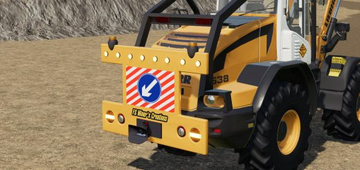 REAR WARNING SIGN FOR WHEEL LOADERS V1.0
