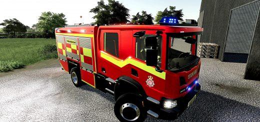 SCANIA UK FIRE ENGINE V1.0