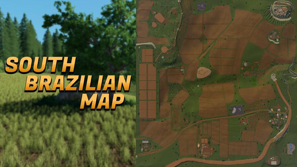 SOUTH BRAZILIAN MAP V1.0