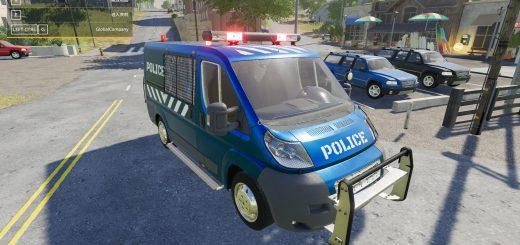 FIAT DUCATO POLICE V1.0