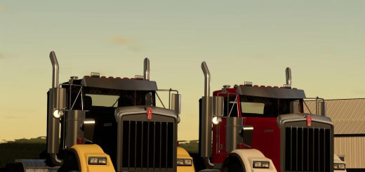 KENWORTH T800 HIGH HOOD V1.0