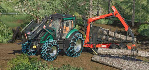 VALTRA T FOREST PACK V1.0