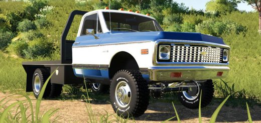 1971 CHEVY C30 FLATBED V1.0