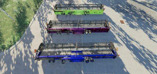 NEW HOLLAND 3162 DRAPER 45FT V1.0
