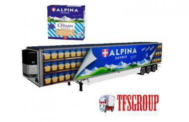 REFRIGERATED INDUSTRIAL TRAILER ALPINA V2.0