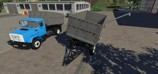 ZIL 45065 AND ZIL 4421 + TRAILER V1.0