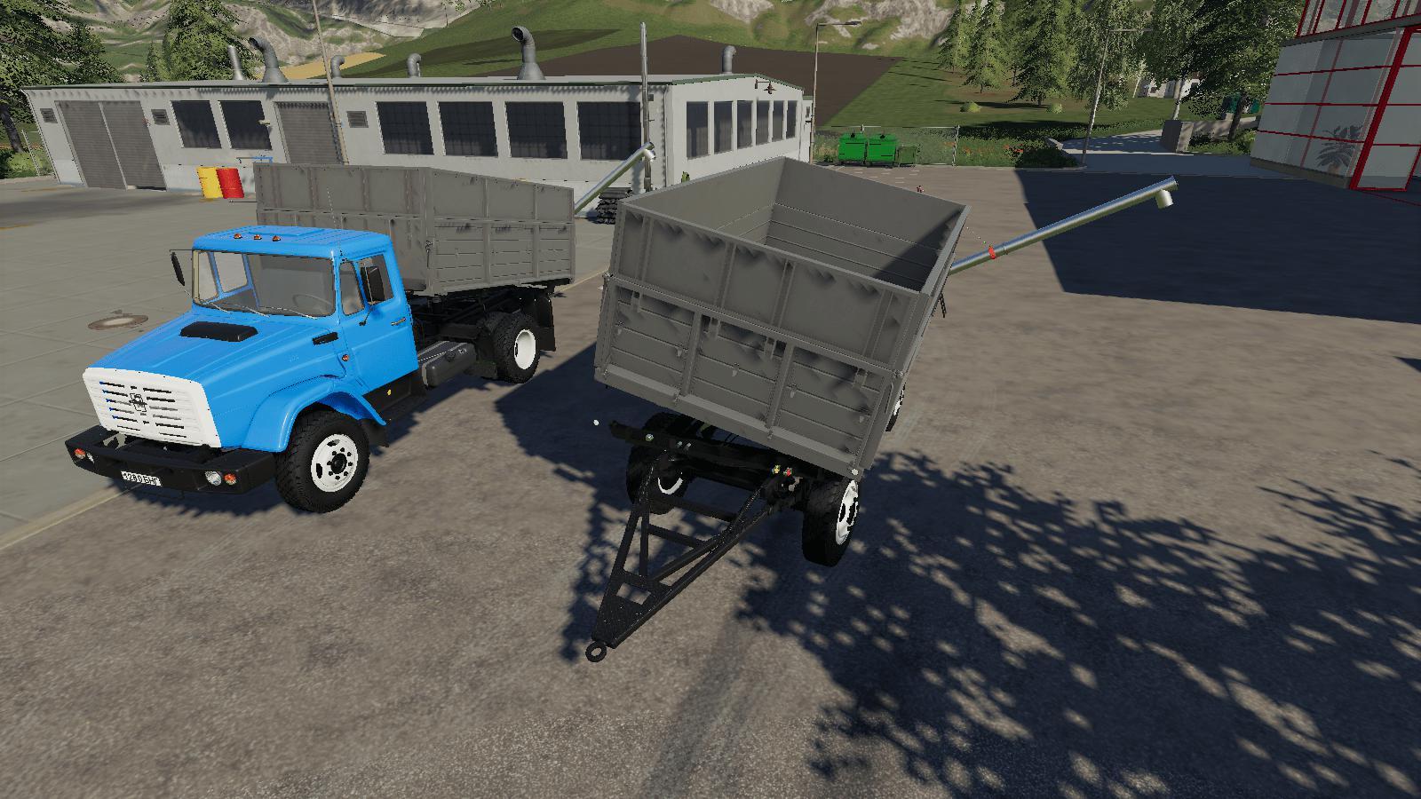 ZIL 45065 AND ZIL 4421 + TRAILER V1.0