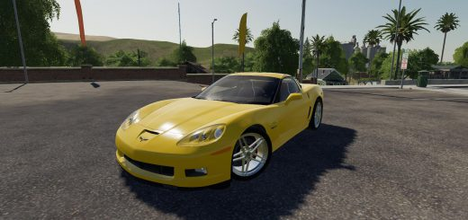 2006 LOWERED CHEVY CORVETTE V1.0