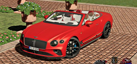 BENTLEY CONTINENTAL GT CONVERTIBLE NUMBER 1 EDITION V1.0