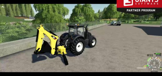CAT BACKHOE FOR TRACTORS V1.0