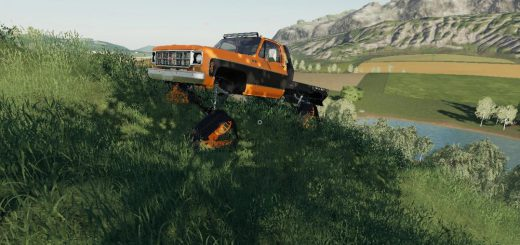 CHEVY 79 SINGLECAB DS TRACKS V1.0