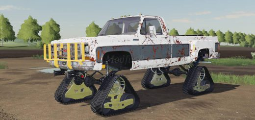 CHEVY K30 SINGLECAB 1979 DS W TRACKS V1.0