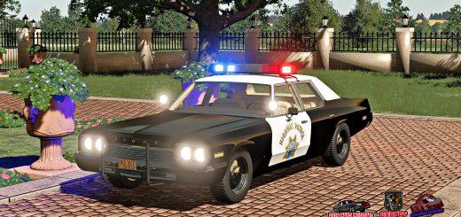 DODGE MONACO POLICE 1974 V1.0