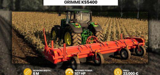 GRIMME KS 5400 V1.0