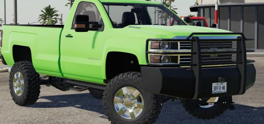 LIFTED 2017 CHEVY SILVERADO 2500 V1.0