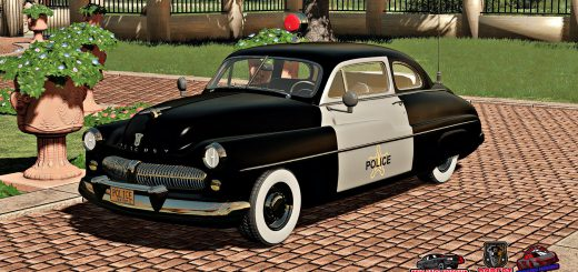 MERCURY EIGHT COUPE POLICE 1949 V1.0