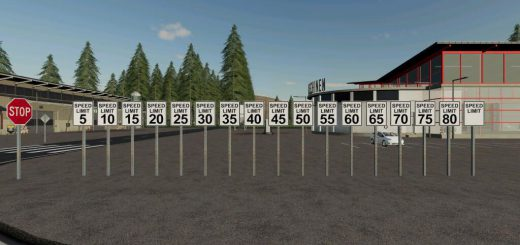PLACEABLE US SPEED LIMIT SIGNS V1.0
