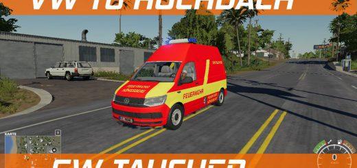 VW T6 HOCHDACH FEUERWEHR KONIGSBERG V1.0