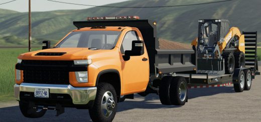 2020 CHEVY 3500HD SINGLE CAB DUMP TRUCK V1.0
