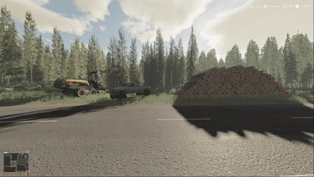 FS19 – Eledan Forest Map v2.0