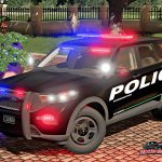 FORD EXPLORER 2020 POLICE INTERCEPTOR V1.0