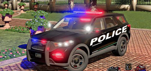 FORD EXPLORER 2020 POLICE INTERCEPTOR V1.0