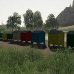 PACK OF BEEHIVES V1.0