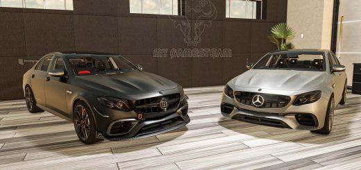 MERCEDES BENZ E63S AMG 2018 V1.0