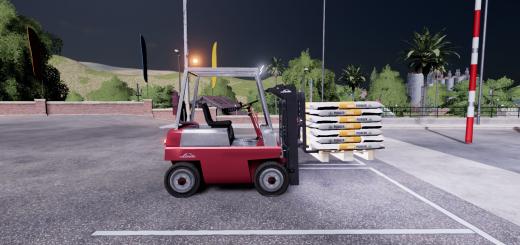 Linde H25 D Forklift