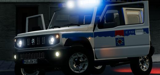 Suzuki Jimny 2019 - Bergwacht